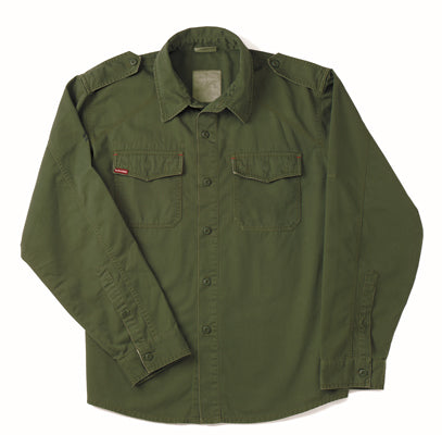 2568 Ultra Force Vintage Bdu Shirt - Olive Drab