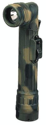 322 Rothco Camouflage Mini Army Style Flashlight