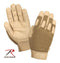 3421 Rothco Lightweight All Purpose Duty Gloves - Coyote