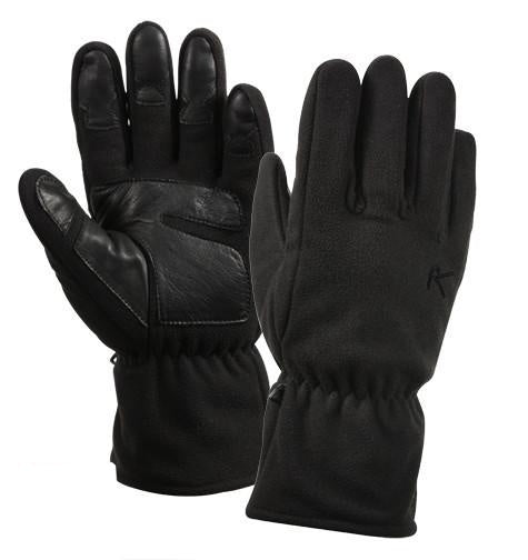 3470 MICRO FLEECE ALL WEATHER GLOVES-BLACK