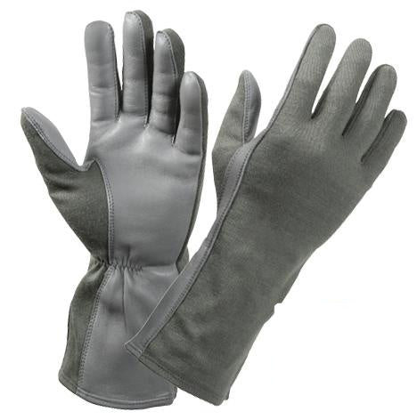 3473 ROTHCO G.I. TYPE FLAME & HEAT RESISTANT FLIGHT GLOVE - FOLIAGE