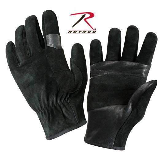 3482 Rothco SWAT/Fast Rope Leather Rescue Gloves