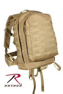 40239 Rothco M.O.L.L.E. II 3 Day Assault Pack - Coyote