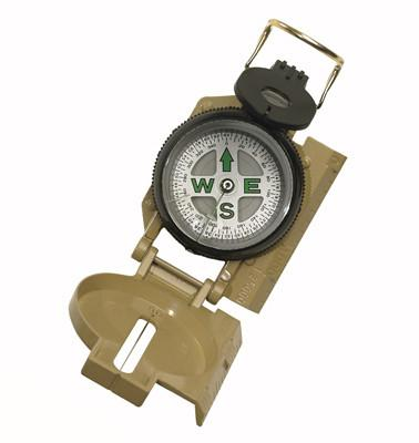 405 Rothco Tan Military Marching Compass
