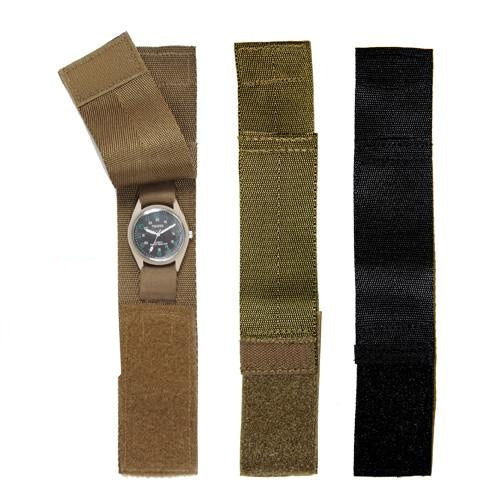 4101 Rothco Nylon Watchbands - Olive Drab, Black