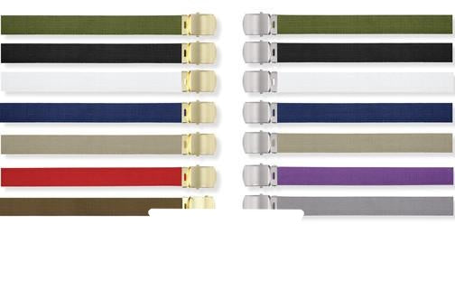 4170 MILITARY COLOR WEB BELTS