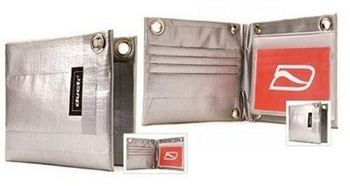 Ducti Classic Bi-Fold Duct Tape Wallet - Silver