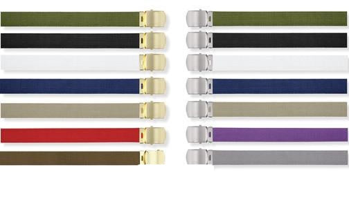 4264 MILITARY COLOR WEB BELTS