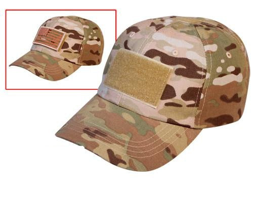 4362 ROTHCO OPERATOR TACTICAL CAP - MULTICAM
