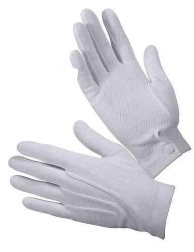 4411 GRIPPER DOT WHITE PARADE GLOVES