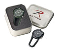 4500 Rothco Clip Watches W/led Light- Olive Drab, Black