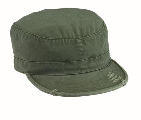4508 Rothco Olive Drab Vintage Military Fatigue Cap