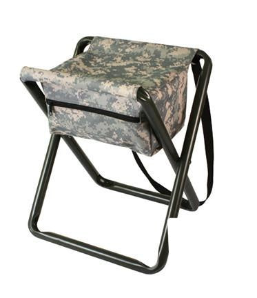 4546 DELUXE STOOL WITH POUCH - ACU DIGITAL CAMO