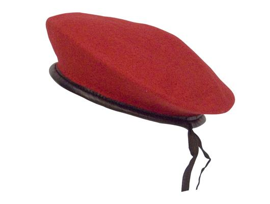 45992 Rothco Red Wool Monty Beret
