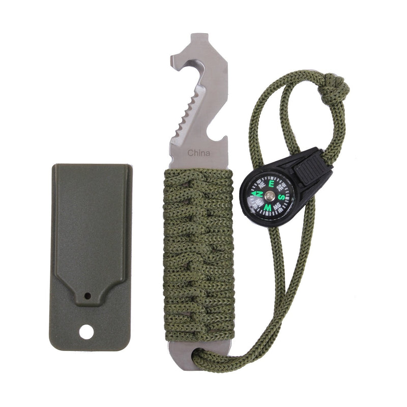 4684 Rothco Paracord Survival Pry Tool - Olive Drab