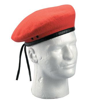 4901 Rothco Ultra Force G.I. Style Wool Red Beret