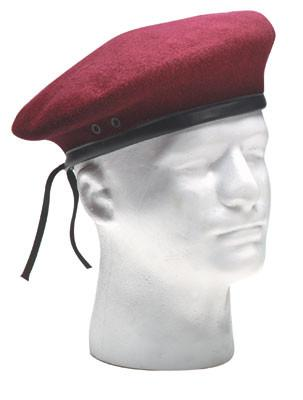 4909 Rothco Ultra Force G.I. Style Wool Maroon Beret