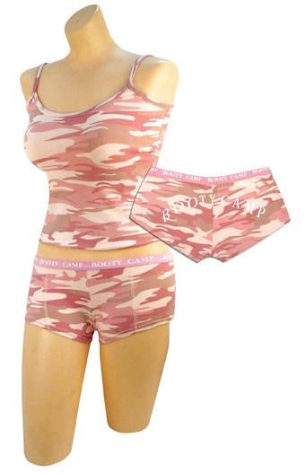 4976 Rothco Women's Baby Pink Camo Tank Top