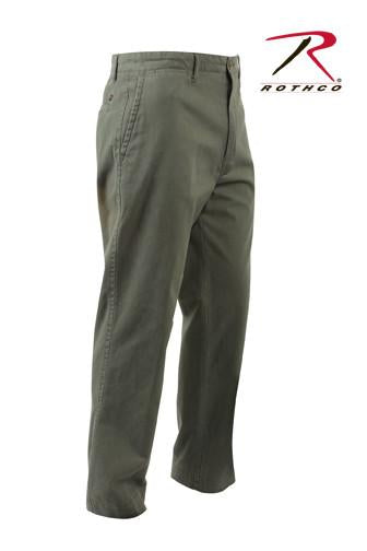 4978 Rothco Deluxe 4-pocket Chinos - Olive Drab