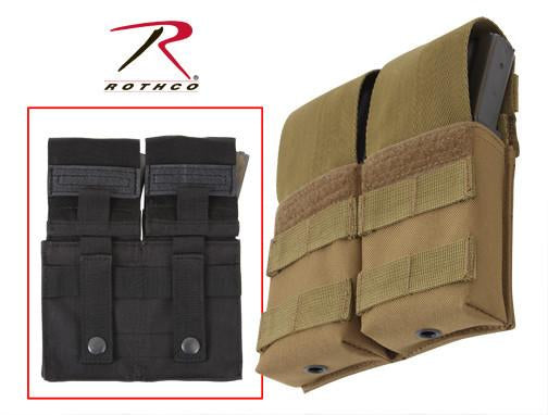 50115 Rothco Double M16 Pouch W/insert - Molle