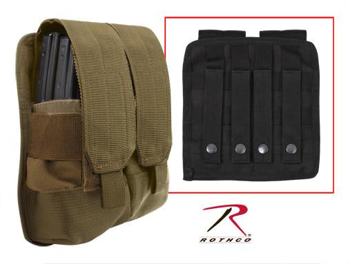 51003 Rothco Universal Double Mag Rifle Pouch - Molle