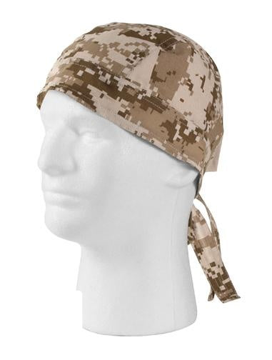 5201 ROTHCO HEADWRAP - DESERT DIGITAL CAMO
