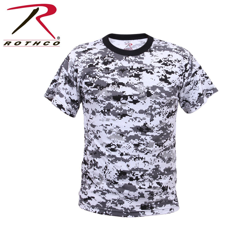 5266 Rothco Kids Digital Camo T-Shirt - City Camo