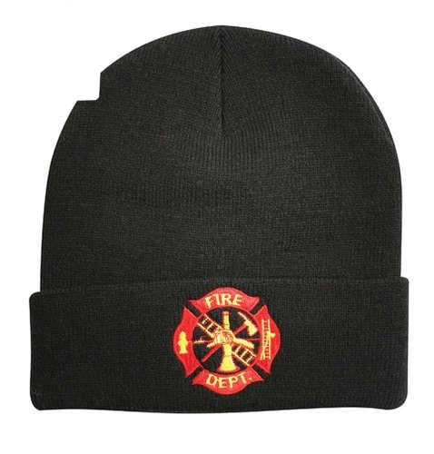 5356 FIRE DEPT. DELUXE EMBROIDERED WATCH CAP