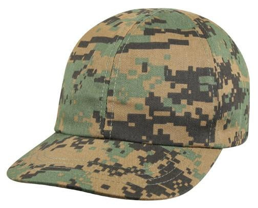5651 KIDS WOODLAND DIGITAL CAMO BASEBALL CAP