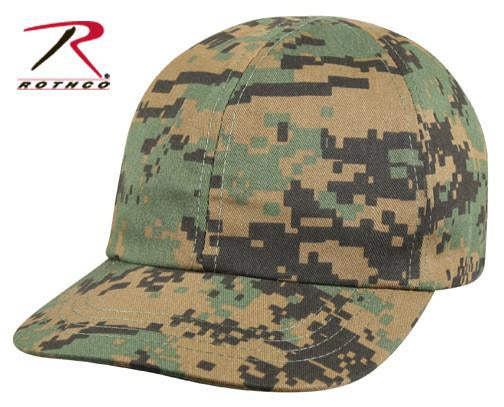 5651 Rothco Kids Woodland Digital Camo Baseball Cap