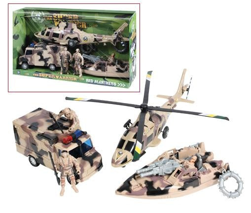 572 Rothco Super Warrior Vehicle Play Set