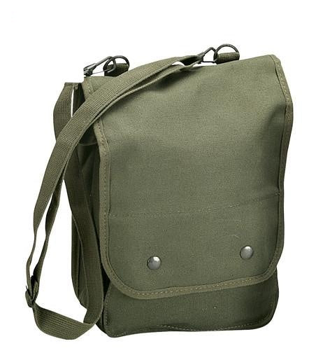 5796 ROTHCO CANVAS MAP CASE SHOULDER BAG - OLIVE DRAB