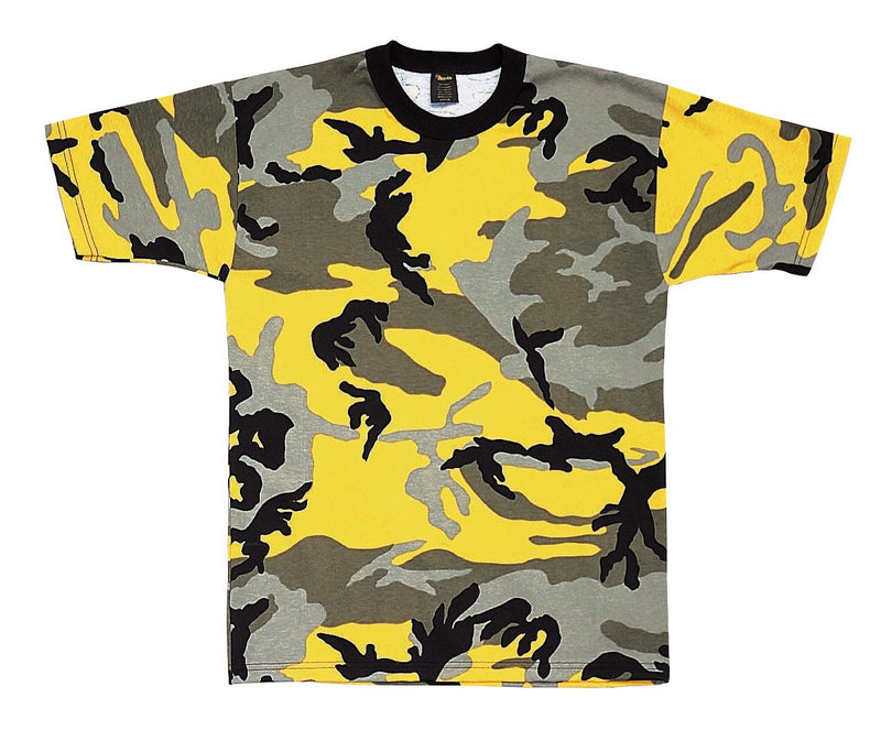 5994 Rothco Colored Camo T-Shirts - Stinger Yellow Camo