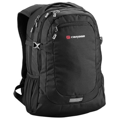 Caribee College 30 Laptop Backpack, Black
