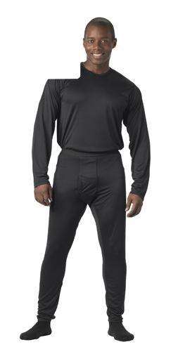 64020 Rothco Gen III Silk Weight Underwear Top - Black