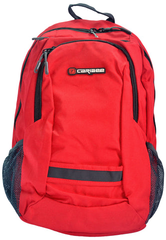Caribee Nile Laptop Backpack, Red