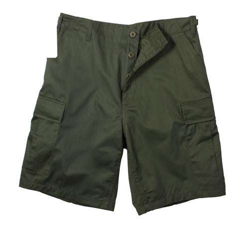 65200 Olive Drab Poly/Cotton BDU Shorts