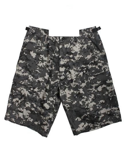 65320 Subdued Urban Digital Camo BDU Shorts