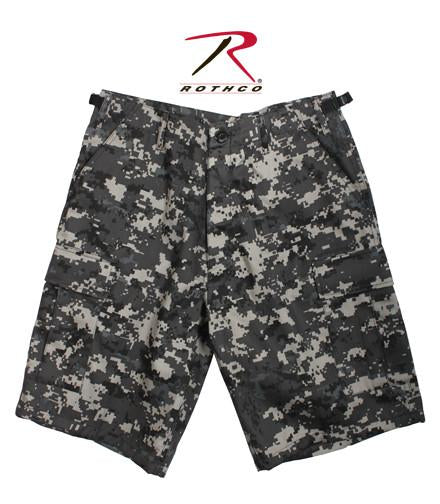65320 Rothco BDU Shorts - Subdued Urban Digital