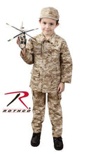 66225 Rothco Kids Military BDU Shirt - Desert Digital Camo