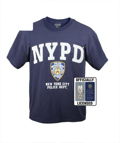 6638 Rothco Officially Licensed NYPDT-shirt