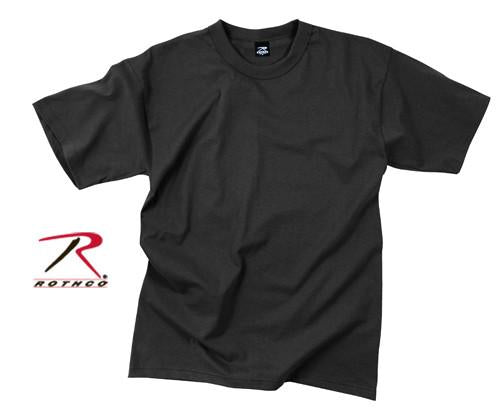6670 Rothco Black T-Shirt