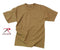 7848 Rothco T-shirt - Poly/cotton / Brown