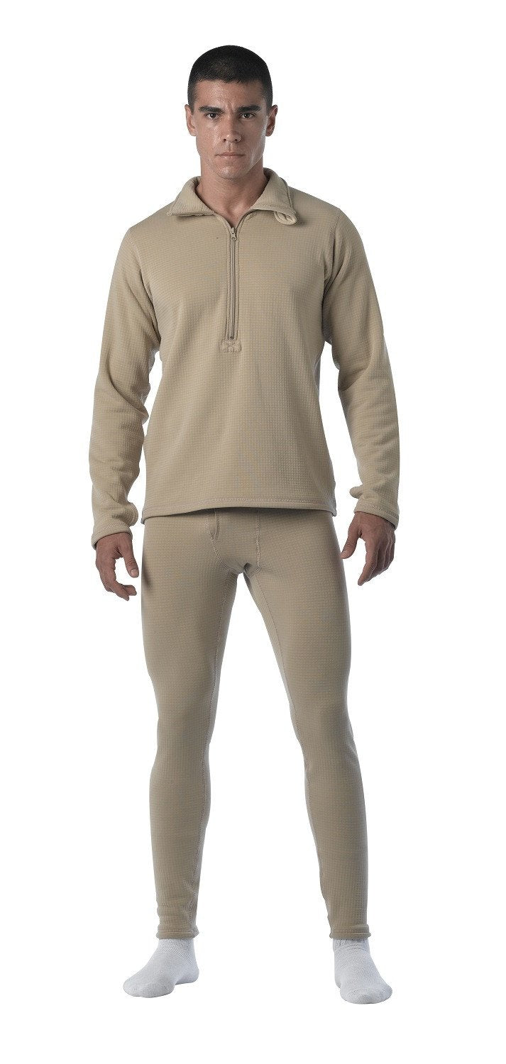 69020 Rothco Desert Sand E.C.W.C.S. Gen III Mid-Weight Thermal Top