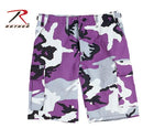 7100 Rothco Bdu Short Poly/cotton - Ultra Violet Camo