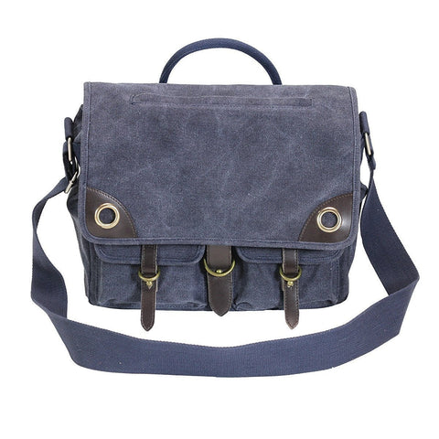 Ducti Laptop Messenger Bags - Utilitarian Electronics Accessories - Blue Angel