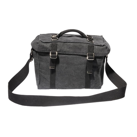 Ducti Laptop Messenger Bags - Utilitarian Electronics Accessories - Ammo - Black