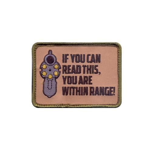 72202 Rothco ''if You Can Read This'' Patch-hook Backing