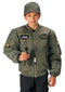 7340 Rothco Kids Flight Jacket With Patches - Sage