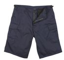 7432 Rothco Long Length BDU Short - Navy Blue